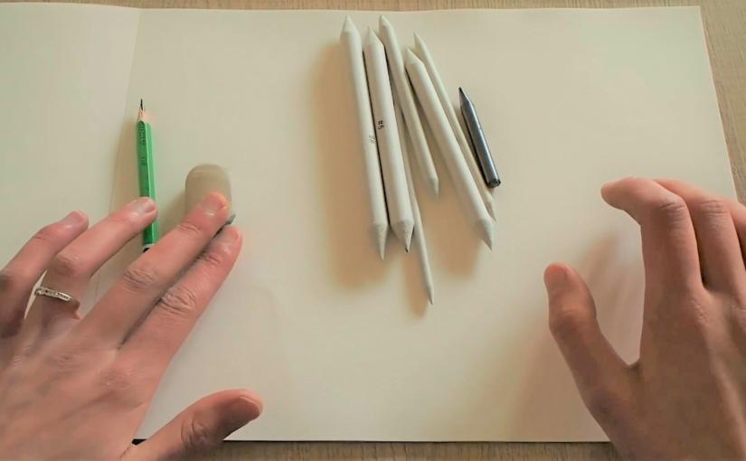 Coup de main 2 – Comment utiliser la mine de plomb et l'estompe