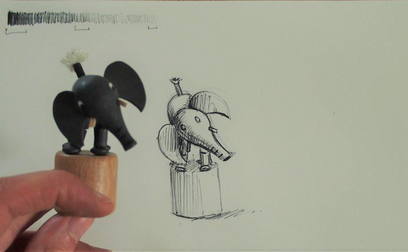 Comment dessiner avec le minimum : un stylo bille !