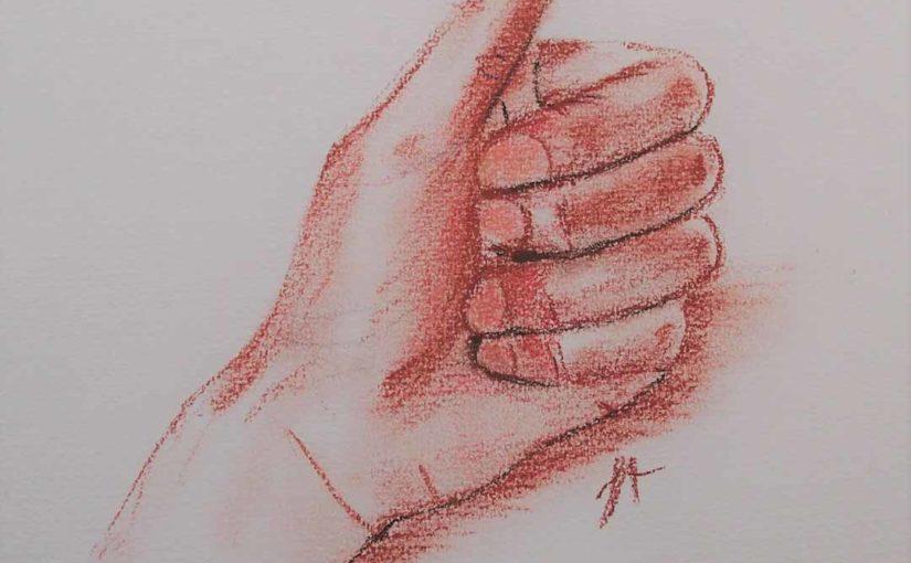Comment dessiner les mains formation en ligne dessin au trait sanguine