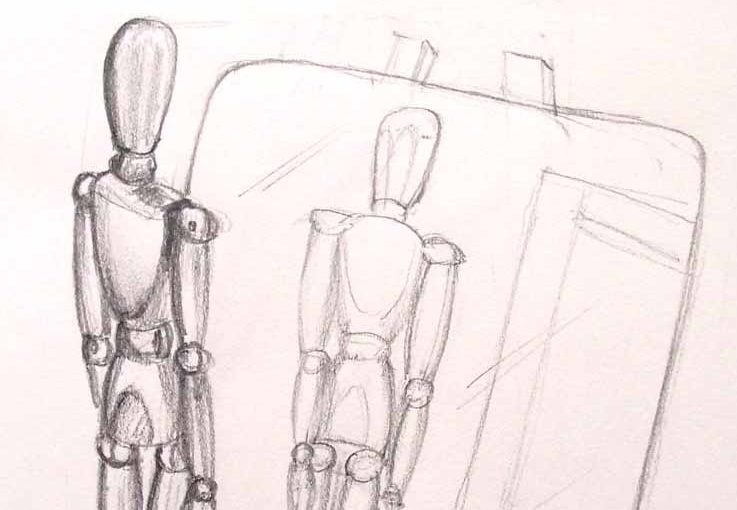 comment dessiner les reflets du miroir formation en ligne dessin