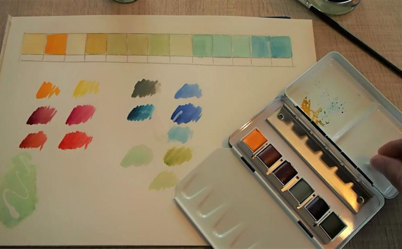 Comment choisir tes premières couleurs ? (aquarelle)