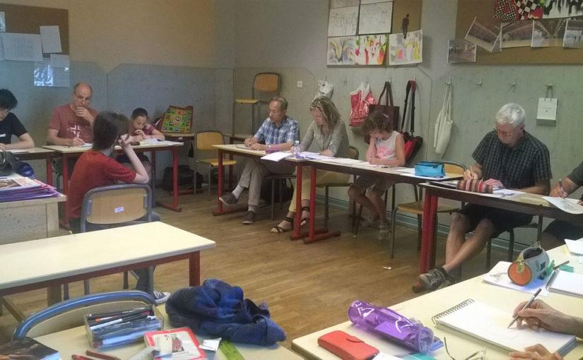 cours dessin colmar alsace logelbach école steiner