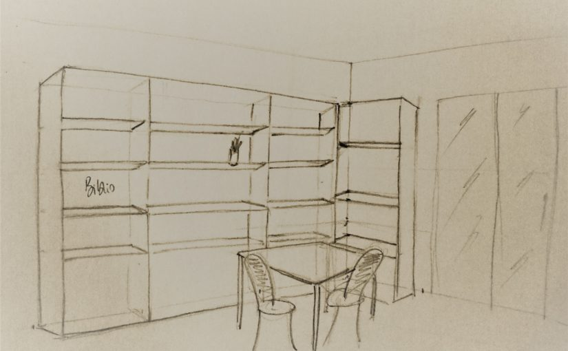 best comment dessiner un atelier en perspective points de fuite with comment dessiner une piece. Black Bedroom Furniture Sets. Home Design Ideas
