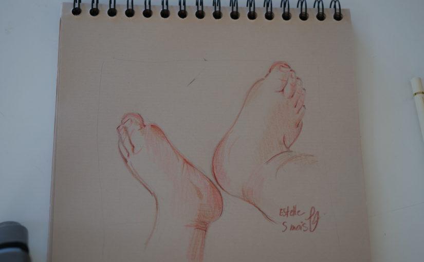 cours-dessin-pieds-bébé-formation-modele-vivant