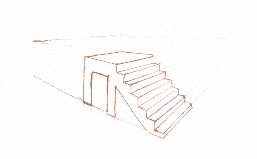 Comment dessiner des escaliers en perspective ?