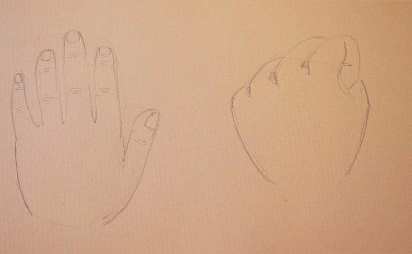 Comment dessiner des mains à partir des tiennes ?