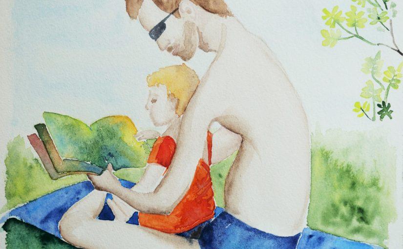 Fusions et nuancier avec l'aquarelle : production de mes vacances !
