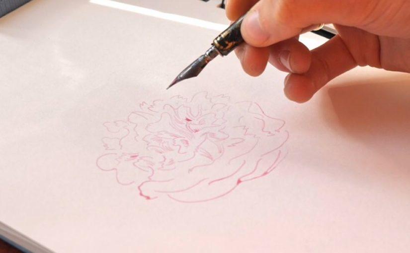 Comment dessiner à la plume et aux encres naturelles ?