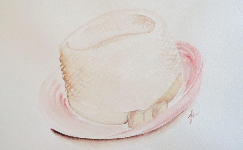 Comment dessiner un chapeau – aquarelle et capillarité ?