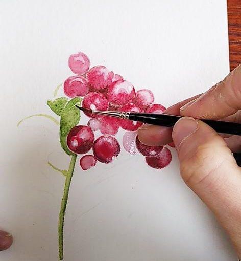 Mélanger les encres naturelles et l'aquarelle, c'est possible ?