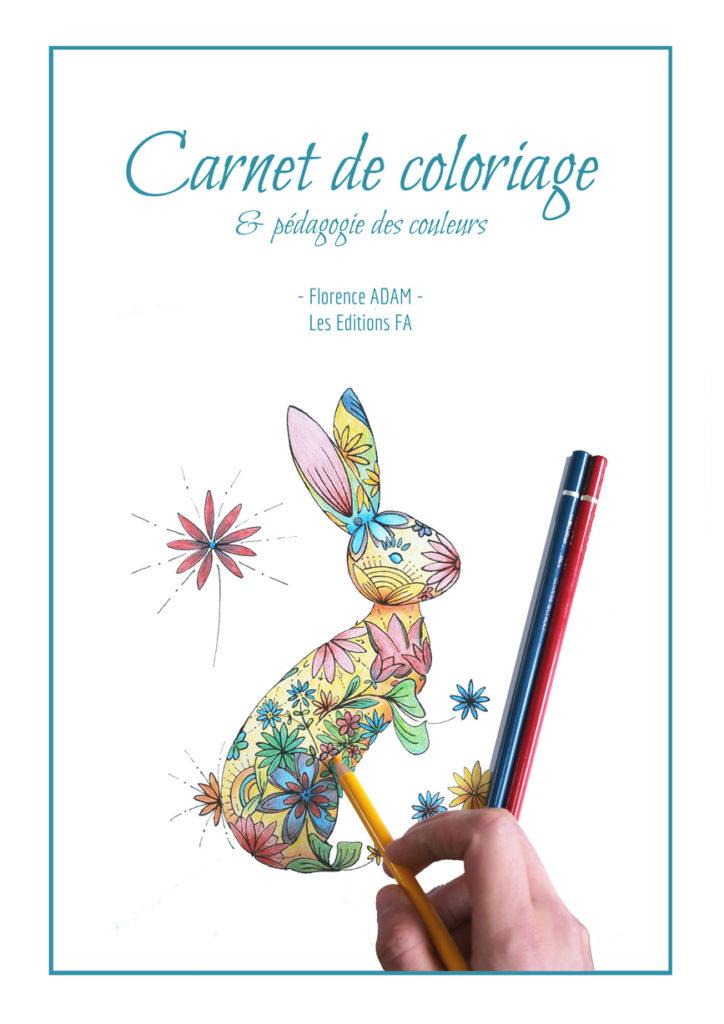carnet de coloriage et pédagogie des couleurs