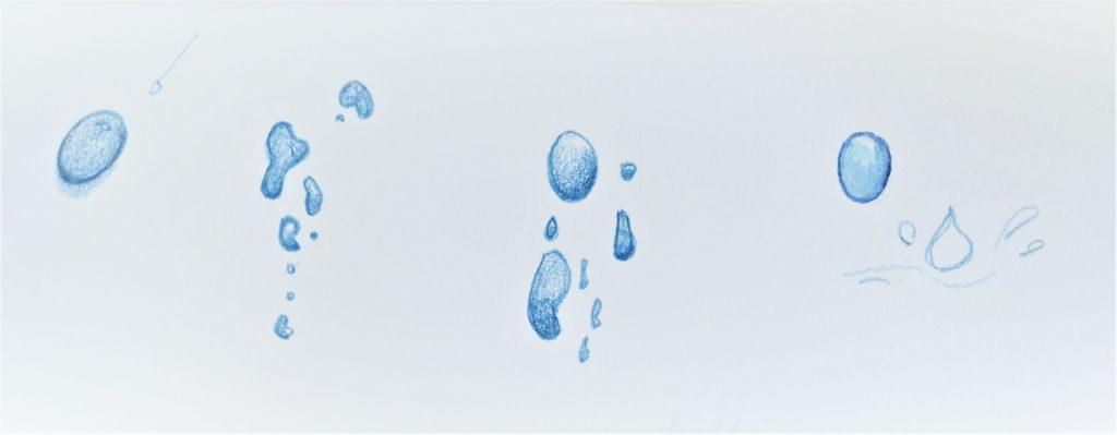 dessin-goutte-eau-crayon-couleur-et-aquarelle