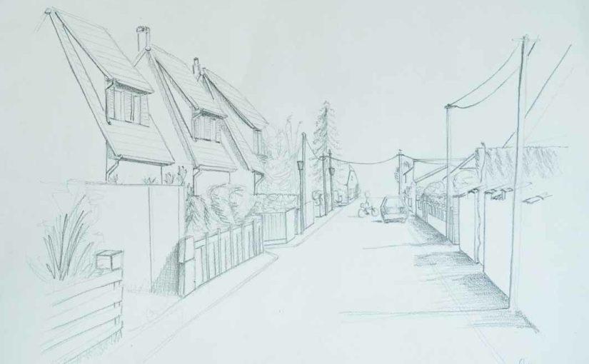 dessiner-rue-perspective-frontale-cours-dessin-paysage